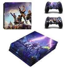 Наклейка для кожи PS4 Pro, Виниловая наклейка для консоли Sony Playstation 4 и 2 контроллеров PS4 Pro, наклейка для кожи