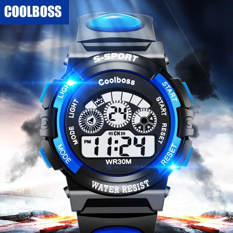 2020 New Luxury Brand Silicone Sports Digital LED Quartz Watch Men Boy Gilr Women Fashion Bracelet W