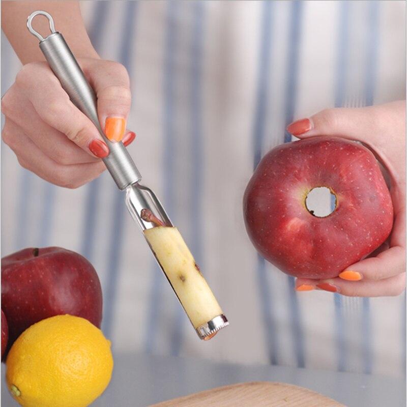 Utensilio de cocina de alta calidad Odpestczanie y Gadget para cortar la semilla de manzana de la manzana
