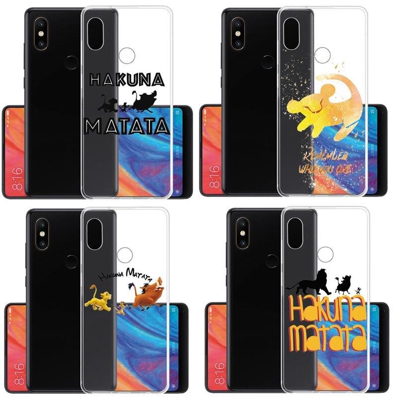 El Rey León Pumba Hakuna Matata carcasa suave de TPU para Xiaomi mi 9T rojo mi NOTE5A NOTE5 Pro rojo mi NOTE5 Xiao mi 8 SE