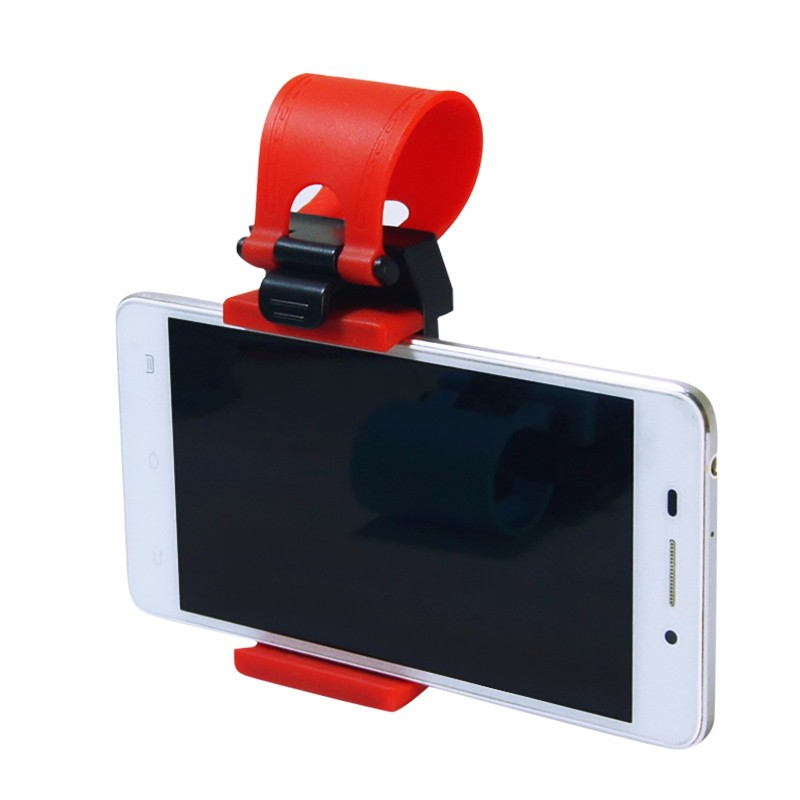 Uniwersalny Uchwyt Samochodowy Kierownica Rower Klip Góra Uchwyt Gumka Dla iPhone Do Samsung Dla Lenovo Telefonu komórkowego Uchwyt 1