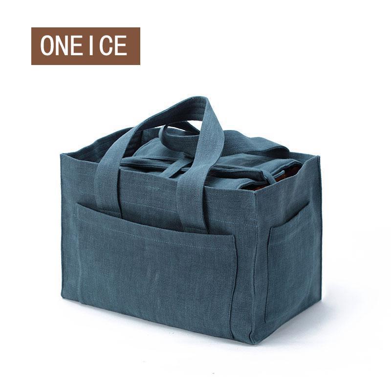 Cozies-صندوق شاي للسفر ، حقيبة تخزين قماشية ، كوب ، أكياس محمولة خارجية ، إبريق شاي من القماش