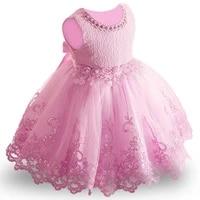 children party dress summer flower girls wedding dress for girls lace princess dress costume for kids 3 4 5 6 7 8 9 10 year