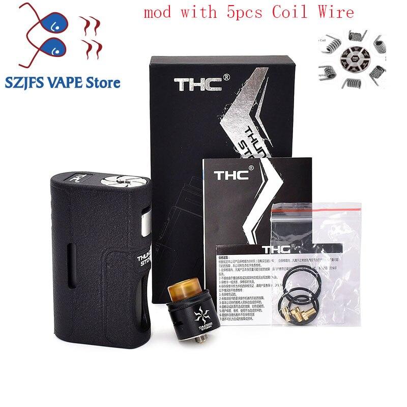 E Cigarette THC Storm BF Box Mod Feeder Bottom Squonk Mods Vape Mechanical Mod E Cigarette 18650 20700 21700 vape Vaporizador predator squonk box mod e cigarette vape box mod power by dual battery 18650