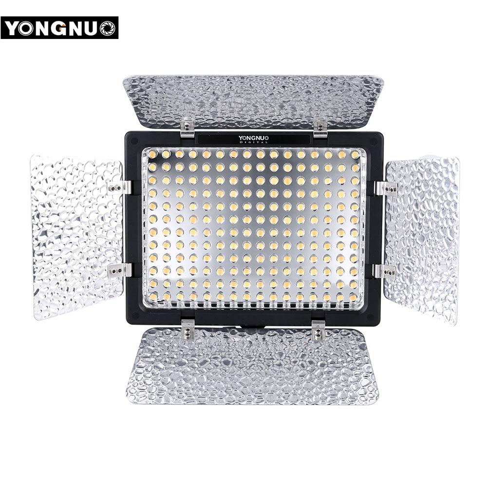 Yongnuo YN-160 III YN160 III Pro 192 LED Estudio de vídeo fotografía lámpara de luz 5500 K Luz de vídeo para Canon Nikon sony DSLR Cámara