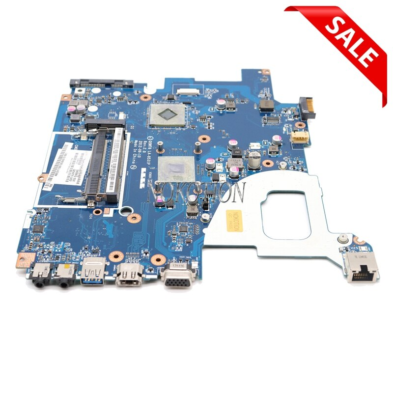 NOKOTION Q5WT6 LA-8531P ملحوظة. Y1G11.002 NBY1G11002 اللوحة لابتوب أيسر أسباير E1 521 وحدة المعالجة المركزية على متن DDR3 الضمان 60 يوما