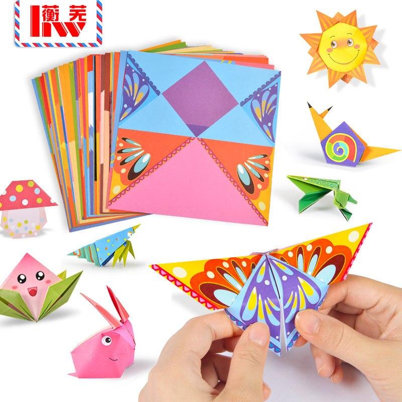 54 unids/pack animales de cartón 3D puzzles/DIY de papel libro/Colección de libro hecho a mano/de los niños juguetes de Navidad