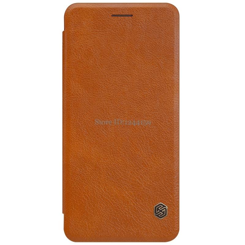 Чехол Nillkin для Samsung Galaxy Note FE Fan Edition, чехол-книжка из искусственной кожи для Samsung Galaxy Note FE Fan Edition, чехол-накладка