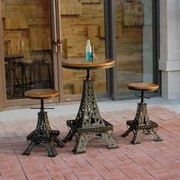 restore ancient ways wrought iron do old paris eiffel tower lift the bar tables and chairs