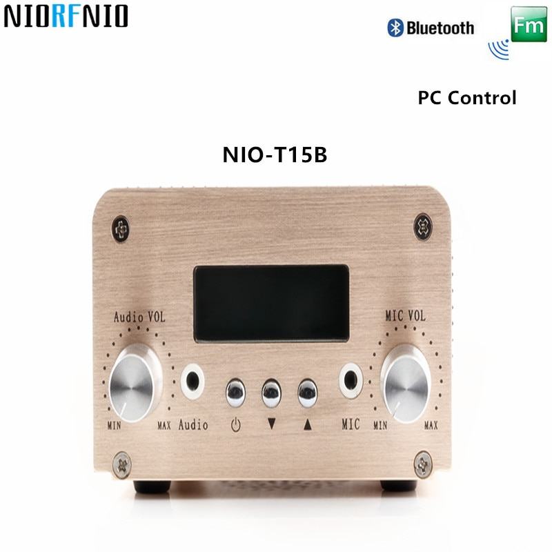 Envío Gratis fabricante profesional FM Radio tubo amplificador HiFi NIO-T15B 5 W/15 W