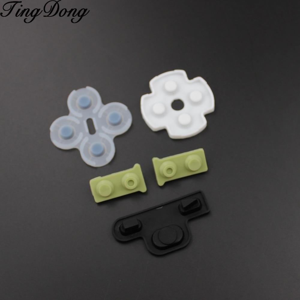2 комплекта для ps3 проводящая пленка для контроллера rubber для Playstation 3, мягкая резиновая деталь для замены