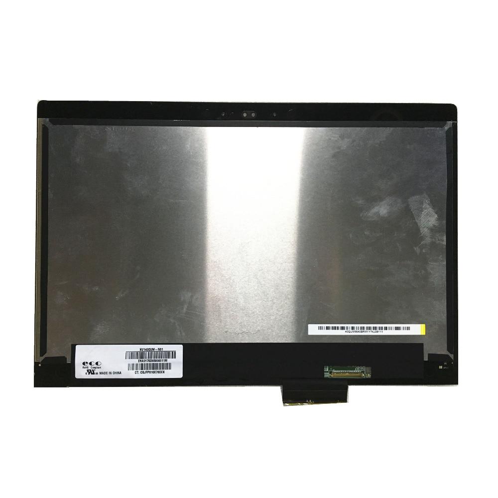 LALAWIN 14,0 NV140QUM-N61 NV140QUM N61 para ordenador portátil HP Lcd pantalla repalcemento montaje IPS 3840*2160 CT CGJFP010X760XN