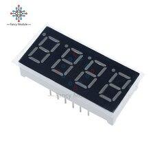 2 pièces 0.36 pouces 4 affichage LED numérique 7 seg segment cathode commune rouge meilleure qualité