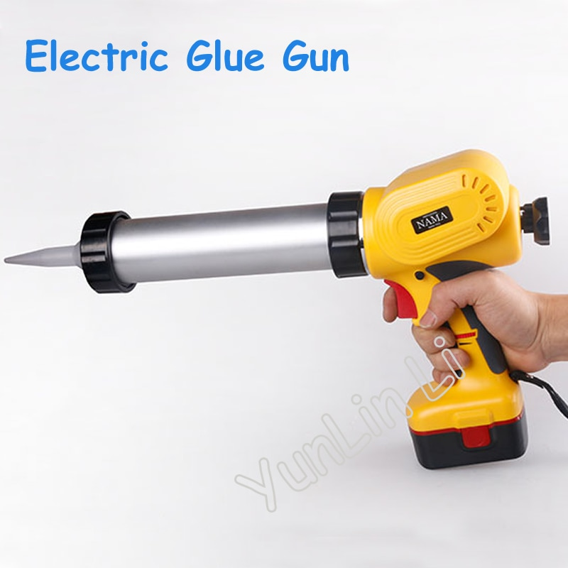 Portable Electric glass glue gun handheld rechargeable glue gun caulking gun tools
