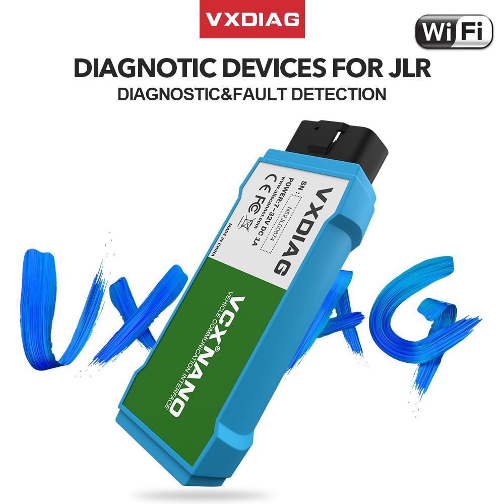 VXDIAG для JLR SDD автомобильные аксессуары Wifi obd2 сканер кода Программирование VCX NANO для Jaguar V159 диагностические инструменты для Land Rover