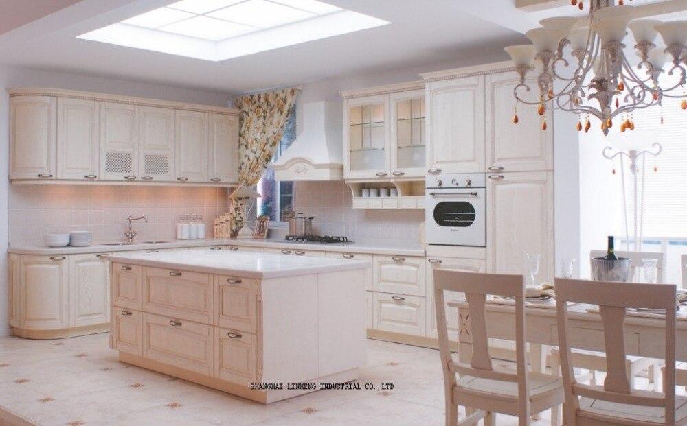 Stile europeo mobili da cucina (LH-SW050)