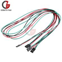 10 pièces 70cm 3Pin femelle à femelle cavalier fil DuPont câbles pour Arduino imprimante Reprap