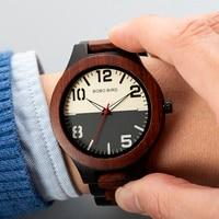BOBO BIRD Watch Men Luxury Stylish Top Luxury Brand Wooden Timepieces Men's Wrist Watches relogio masculino Accept Logo