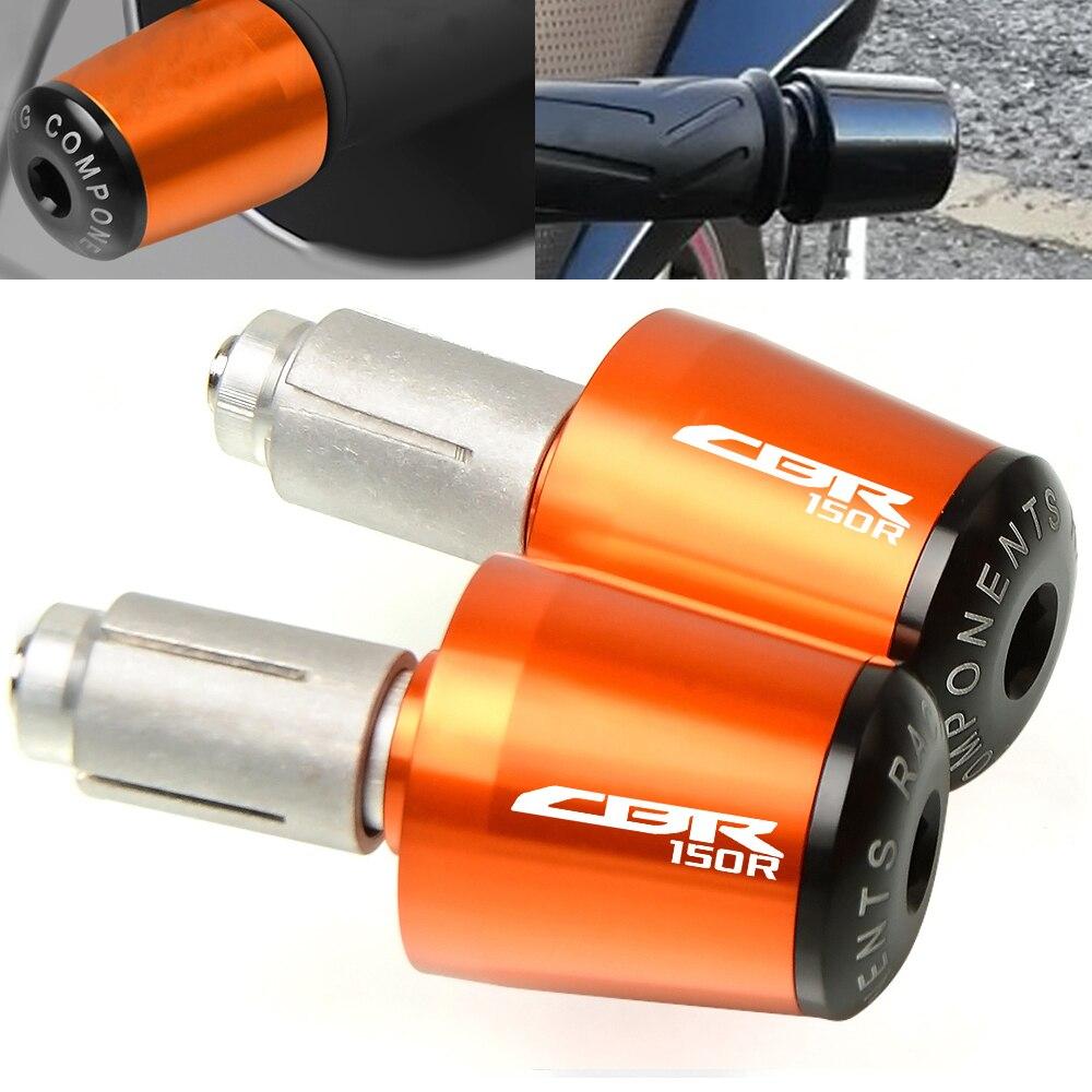 Engranaje del manillar, enchufe equilibrado, barra de control deslizante, extremos de manillar para Honda CBR150R CBR 150 R CBR 150R 2005-2010 2006 2007 2008