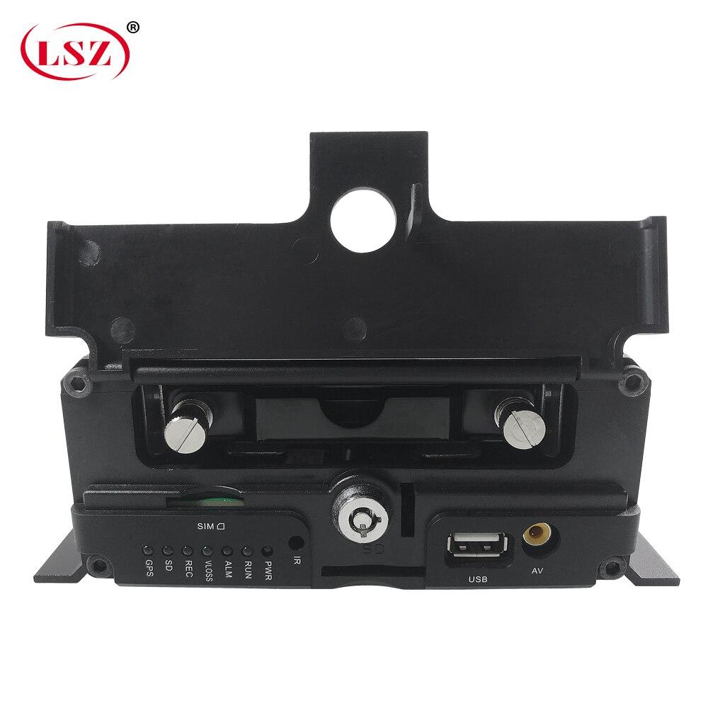 Lsz 소스 factory8-channel 하드 디스크 오디오 및 비디오 원격 트럭 mdvr 4g gps wifi 무선 네트워크 지우기 픽셀 모니터링 호스트