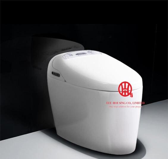 Inteligente toalete cerâmico wc commode inteligente S-armadilha/mercado Europa 220 v preço de fábrica limpa Automático rubor siphonic