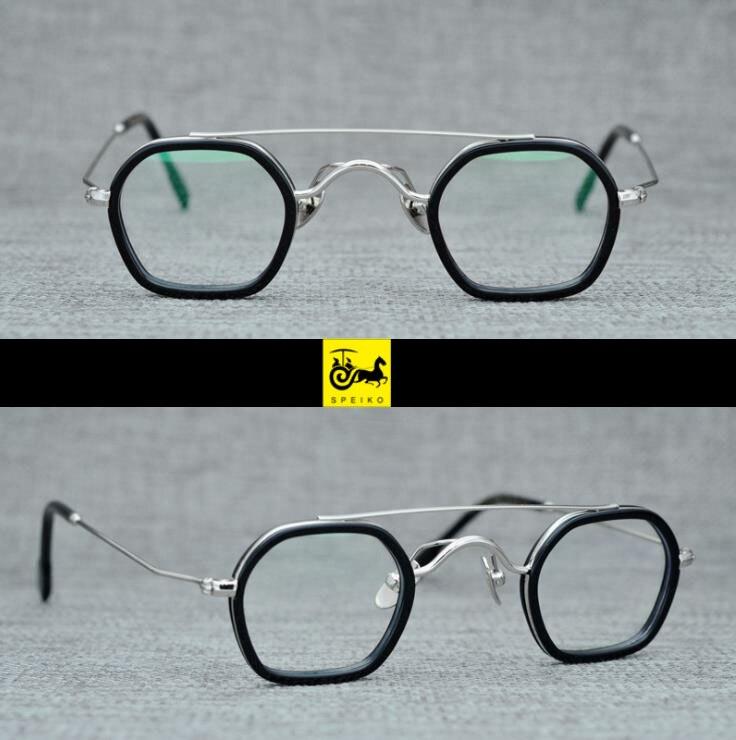 Gafas de tamaño pequeño SPEIKO, gafas para miopía, gafas de lectura 1,74, Lentes Anti-azul, máscara retro, gafas de Estilo Redondo, gafas vintage