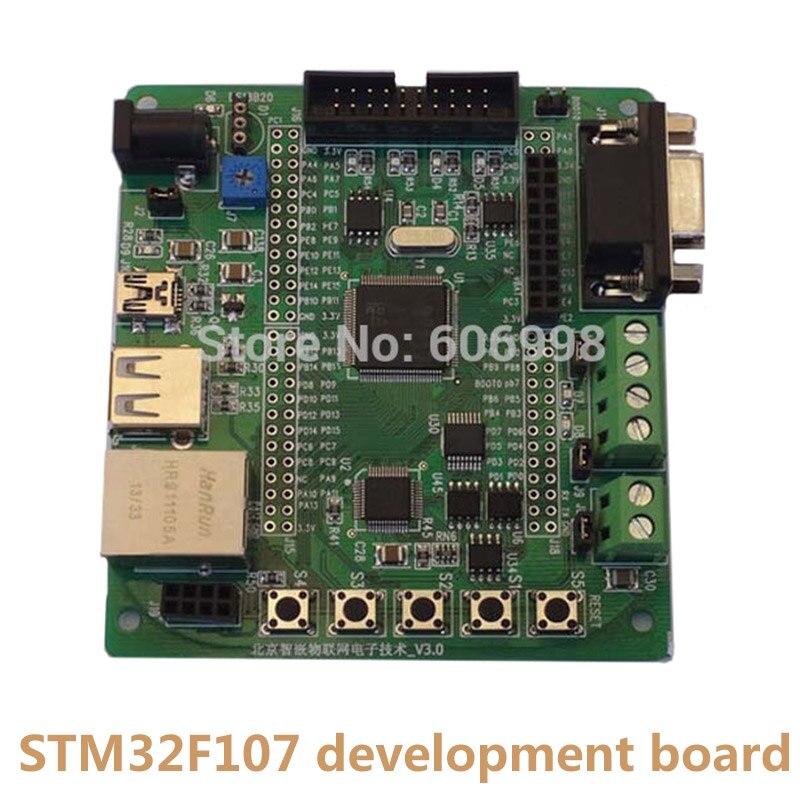2 unids/lote STM32F107 STM32F107VCT6 Placa de desarrollo Ethernet RC522 IOF múltiples Interfaces alta estabilidad