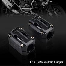 22mm 25mm 28mm Engine Protector Guard Bumper Decor Block For BMW F650GS F700GS F800GS G650GS G310GS S1000XR HP2 R NINET