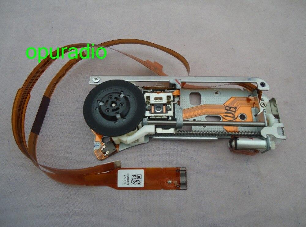 Envío gratis a estrenar fujitsu ten 6 CD cambiador de disco en el salpicadero mecanismo pequeño para Toyota Lexus coche radio láser