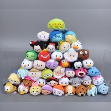 Tsum Tsum Plush Pendant Toys Inside Out Mini Plush Toy Screen Cleaner Alice Anna Donkey Toys for Chi