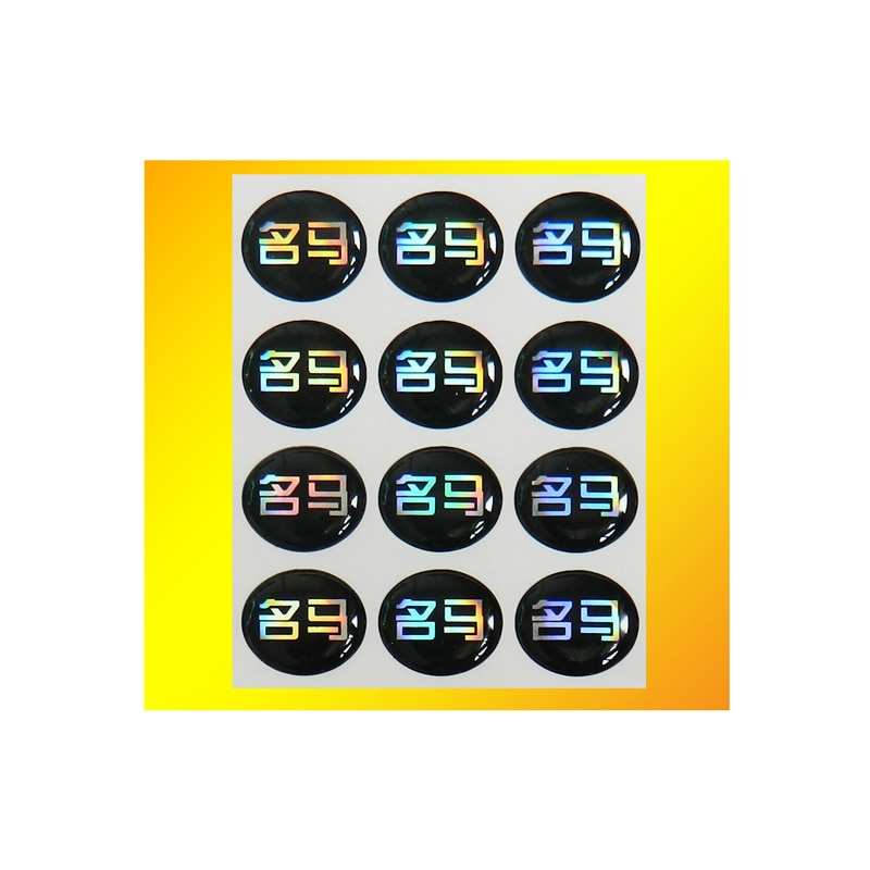 Etiquetas personalizadas de cúpula de resina de poliuretano