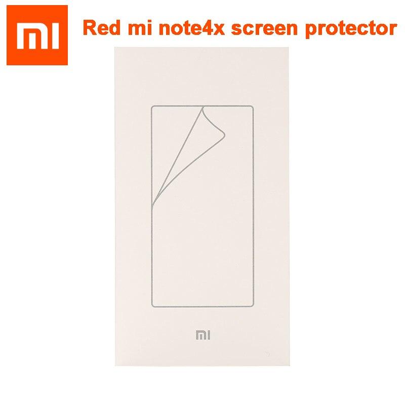 Original xiaomi inteligente para xiaomi Redmi note4X hongmi Note 4x Red rice Note4X película protectora de pantalla