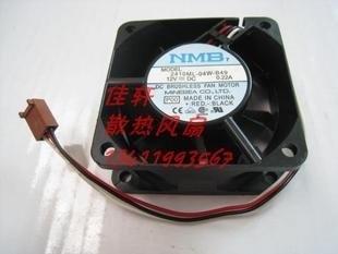 De boa qualidade original nmb ventilador de refrigeração 6 cm 12 v 0.22a 2410ml-04w-b49 3 3line quality assurance ventilador de refrigeração