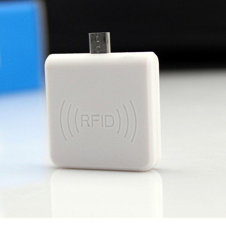 Micro usb nfc reader 13,56 mhz rfid proximity sensor chipkartenleser 4/7 bytes uid adaptible für android linux windows