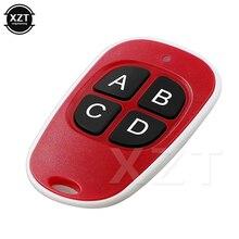 Universal 433MHz Remote Control Wireless 4 Keys Copy Cloning Garage Door Duplicator Key waterproof Ultraligh colorful HOT SALE