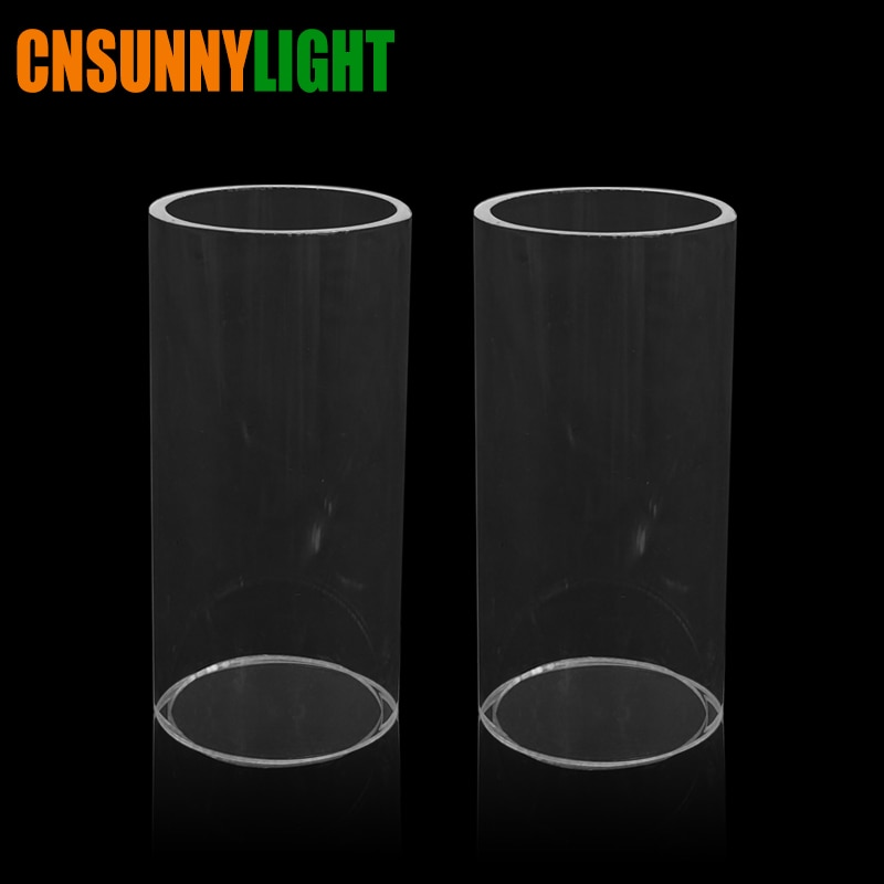 CNSUNNYLIGHT bombilla de coche tubos de cristal reemplazan filtros de películas transparentes especiales para Kits de faro LED delantero de coche
