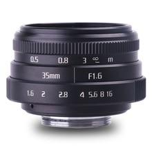 new style fujian 35mm f1.6 C mount CCTV camera Lens II  for Fuji Fujifilm X-Pro1 (C-FX)