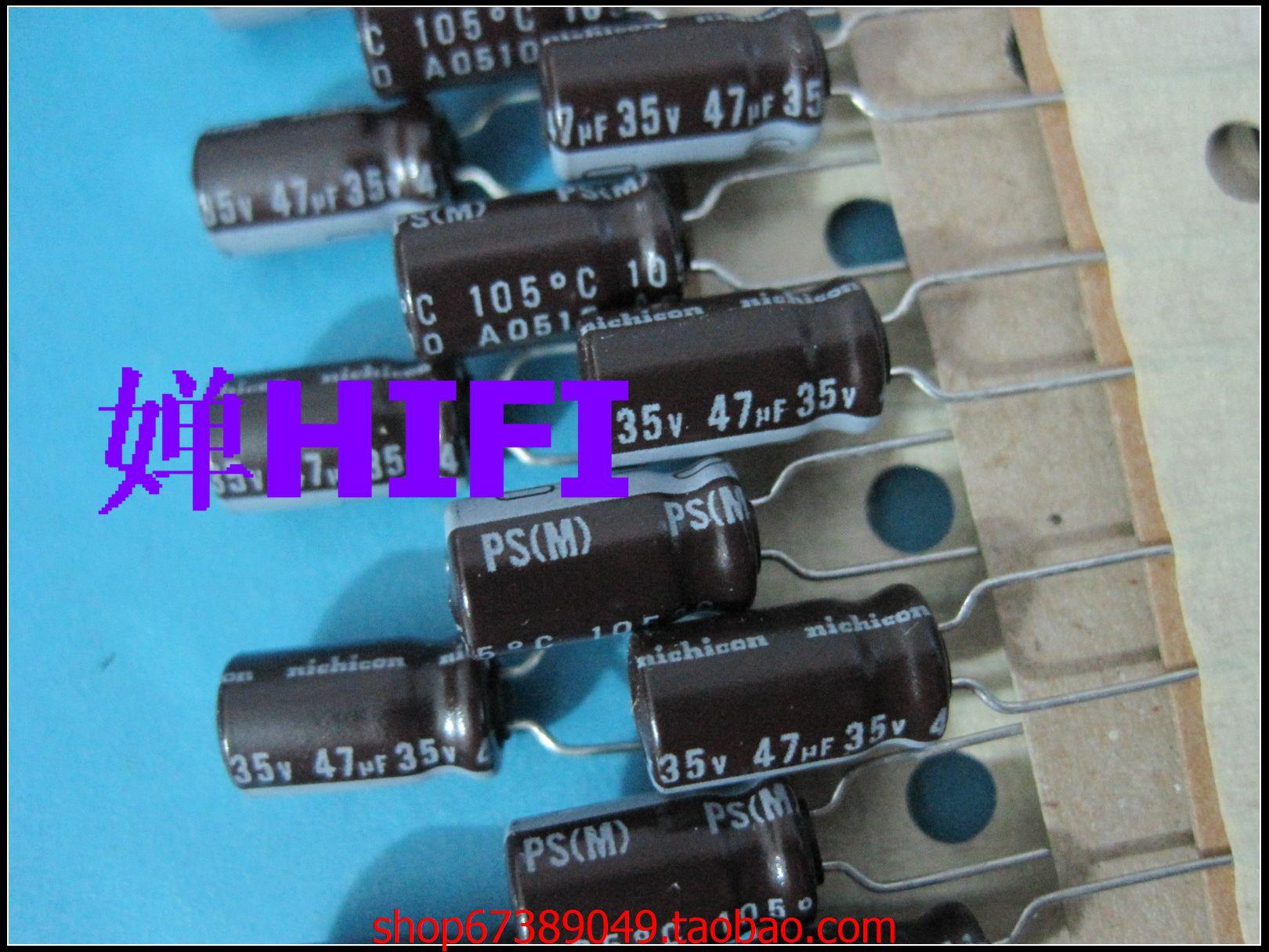 2020 hot sale 20PCS/50PCS Japan nichicon original PS electrolytic capacitor 35v47uf 6x11 free shipping 2020 hot sale holland bc 20pcs 50pcs 82pf 100v 2