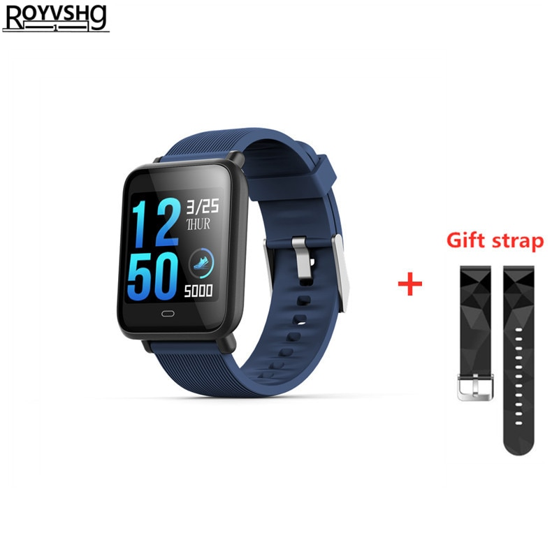 Q9 Watch Men Women Blood Pressure Heart Rate Monitor Smart Watch IP67 Waterproof Sport Fitness Tracker Smartwatch PK Q3 A6