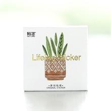 45 Pcs/lot parfum en pot bricolage Kawaii autocollant haute qualité corée du sud auto-adhésif scrapbook époxy autocollant design sur jardin