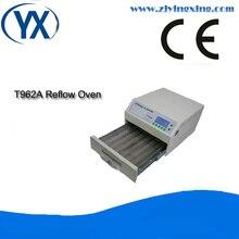 Four à reflux contrôlé par Micro-processeur chauffage infrarouge IC four à reflux soudage T962A SMD Techniques de soudage