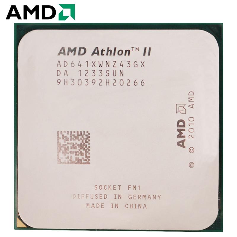 AMD Athlon II X4 641 hembra FM1 100W 2,8 GHz 905-pin CPU...