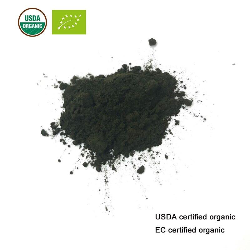 Polvo orgánico de Chlorella certificado USDA y EC