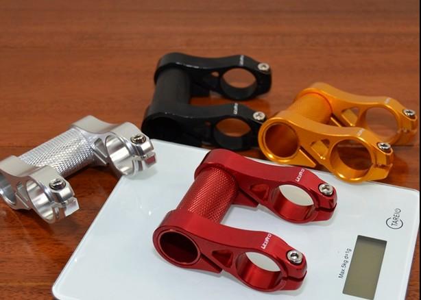 Litepro adjustable double stem folding bike stem bmx stem riser bicycle handlebar stem extender
