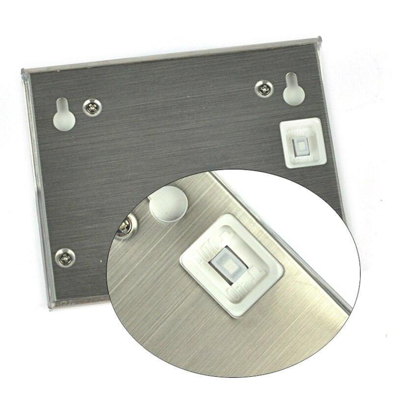 LED de energía Solar para exteriores, impermeable, camino de jardín, lámpara para escaleras, colector Solar LED de ahorro de energía, Blanco cálido, blanco frío