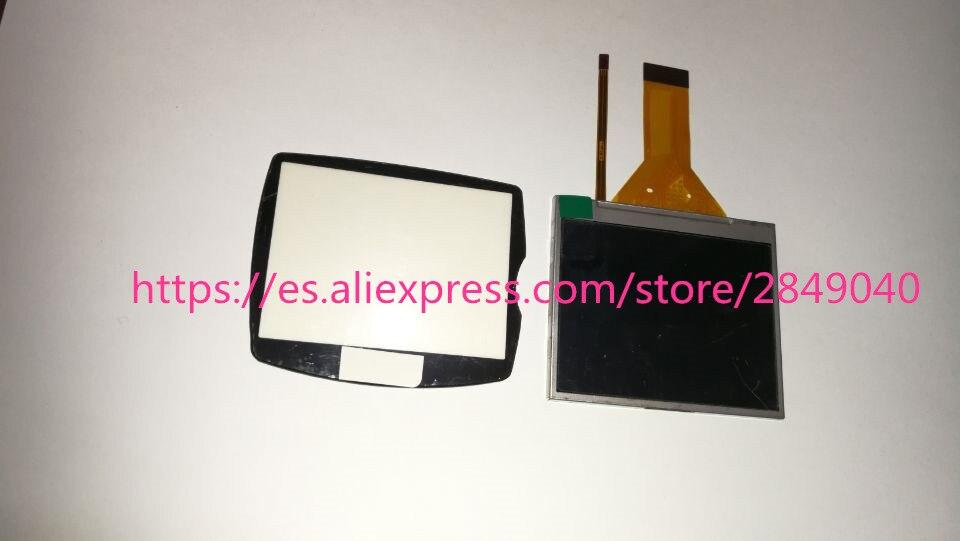 100% Origina NOVA LCD Screen Display Repair Parte para NIKON D40 Com Backlight Com JANELA