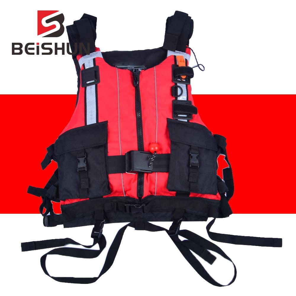 CE Certification Custom Heavy Life Jacket Water Sports Rescue Team Life Jacket 150N Water Rescue Big Buoyancy Lifesaving