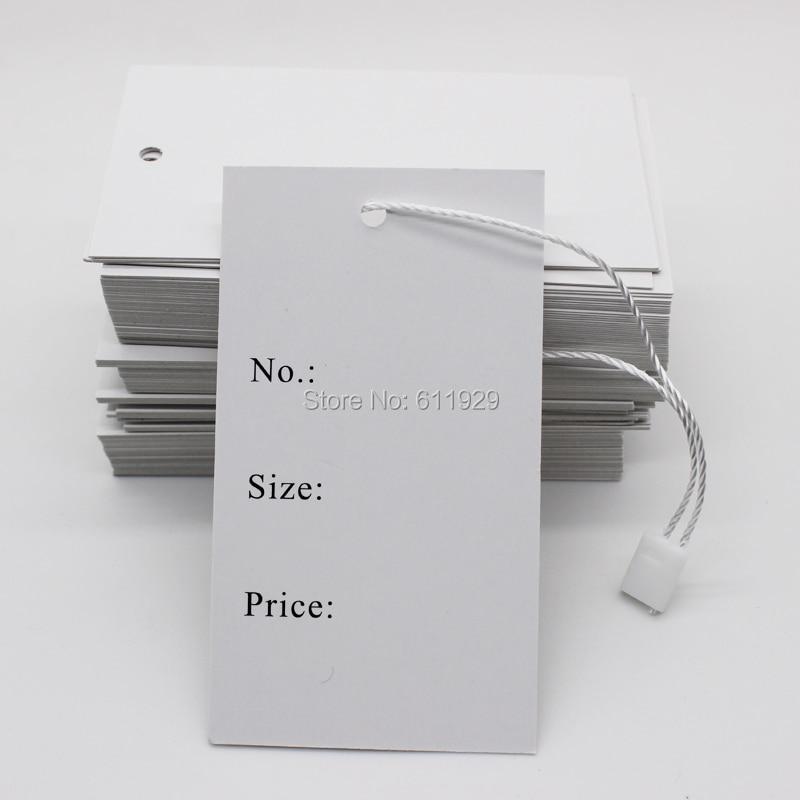 Free shipping stock clothing price hang tag/garment size tag/clothing printed label/custom clothing paper hang tag 200 pcs a lot