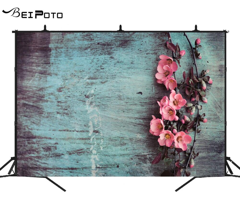 BEIPOTO flor Rosa pano de fundo para photo studio fotografia fundo estúdio de alimentos do produto do bebê recém-nascido foto props azul cal