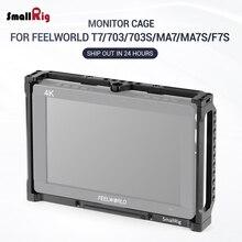SmallRig Monitor jaula para Feelworld T7 703 de 703S MA7... MA7S y F7S Monitor 2233